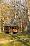 Poca casa di legno Immagini Stock Libere da Diritti
