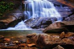 Poca cascada Imagen de archivo