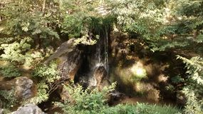 Poca cascata Immagine Stock