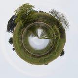 Poca charca del planeta Imagen de archivo libre de regalías
