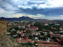 Poca ciudad Fotografía de archivo libre de regalías