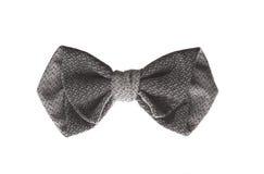 Poca corbata de lazo oscura para la decoración Fotos de archivo libres de regalías