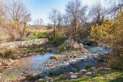 Poca corriente en Provence Imagen de archivo