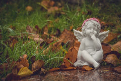 Poca estatuilla del ángel Fotografía de archivo libre de regalías