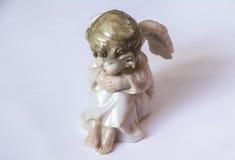 Poca figura dell'angelo Immagini Stock Libere da Diritti