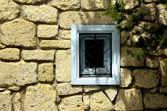 Poca finestra Fotografia Stock