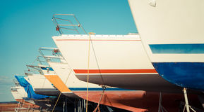 Poca flotta Fotografie Stock Libere da Diritti
