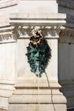 Poca fuente cerca de la catedral Zagreb Imagen de archivo libre de regalías