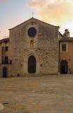 Poca iglesia en sangemini Imagen de archivo libre de regalías