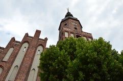 Poca iglesia luterana Fotografía de archivo libre de regalías