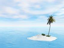 Poca isla Foto de archivo