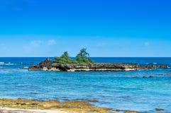 Poca isola Immagini Stock