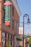 Poca Italia, Schenectady Nueva York, panadería del ` s de Perreca imagenes de archivo