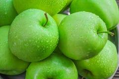 Poca manzana verde Foto de archivo