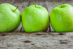 Poca manzana verde Imágenes de archivo libres de regalías