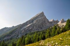 Poca montagna di Watzmann - Berchtesgaden, Germania Immagini Stock