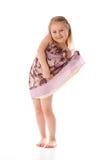 Poca muchacha de baile fotografía de archivo libre de regalías