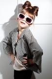 Poca muchacha de la manera Fotografía de archivo libre de regalías