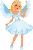 Poca muchacha del ángel Imagen de archivo