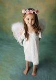 Poca muchacha del ángel Imagenes de archivo