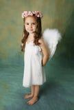 Poca muchacha del ángel Fotos de archivo libres de regalías