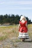 Poca muchacha del país Imagen de archivo