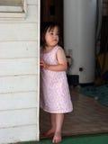 Poca muchacha del país Imagenes de archivo