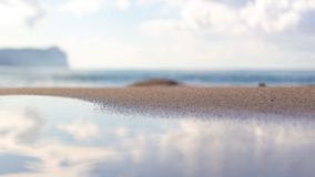 Poca playa imágenes de archivo libres de regalías