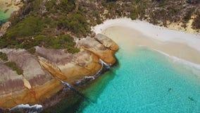 Poca playa Foto de archivo