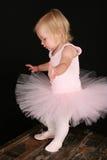 Poca ragazza di balletto Fotografia Stock Libera da Diritti