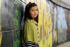 Poca ragazza di modo Fotografia Stock Libera da Diritti