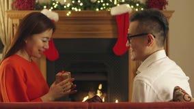 Poca sorpresa de la Navidad almacen de video
