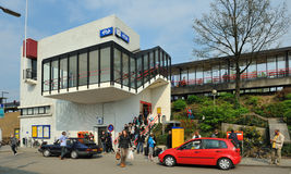 Poca stazione ferroviaria olandese Immagini Stock