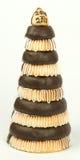 Poca torta del marzapane per il nuovo anno 2011 Immagine Stock Libera da Diritti