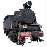 Poca vecchia locomotiva Immagini Stock