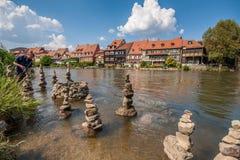 Poca Venecia en Bamberg Foto de archivo libre de regalías