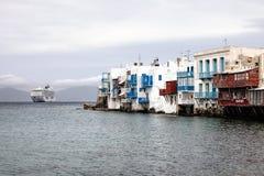 Poca Venecia en Mykonos imagen de archivo