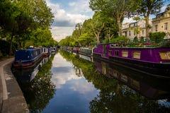 Poca Venecia, Londres Fotografía de archivo libre de regalías