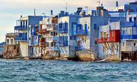 Poca Venecia, Mykonos Imagen de archivo