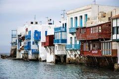 Poca Venecia, Mykonos, Grecia imagenes de archivo