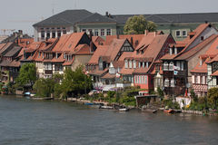 Poca Venezia a Bamberga fotografie stock