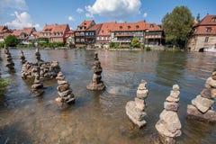 Poca Venezia a Bamberga Fotografia Stock