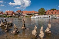 Poca Venezia a Bamberga immagini stock