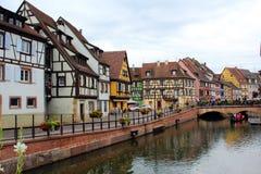 Poca Venezia di Colmar in Francia fotografia stock