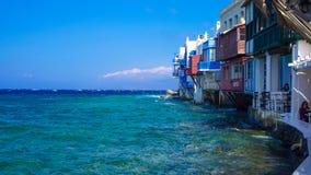 Poca Venezia di Mykonos Fotografie Stock Libere da Diritti