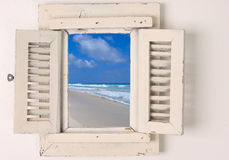 Poca ventana Imagen de archivo