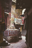 Poca via a Varanasi, India Immagine Stock Libera da Diritti