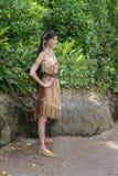 Pocahontas, Disney World Princess, Travel royalty free stock photo