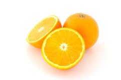 Pocas naranjas jugosas. Foto de archivo libre de regalías