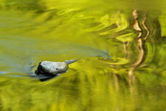 Pocas reflexiones del río imágenes de archivo libres de regalías